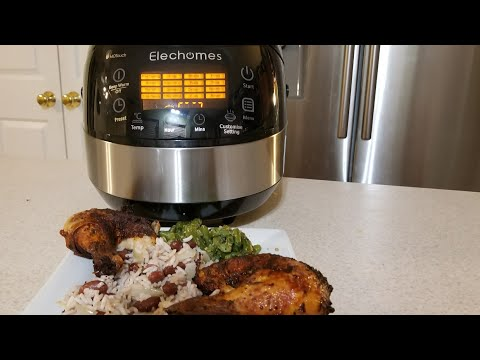 elechomes-rice-cooker-16in1-10-cup-multicooker-cr502-first-look-review-rice-+-steam