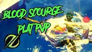 Guild Wars 2 - Ranked Blood Scourge PvP Games l Platinum Rank l