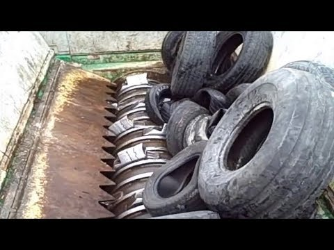 Worlds Most Powerful Shredding Machine Modern Technology Machines Destroys Everything