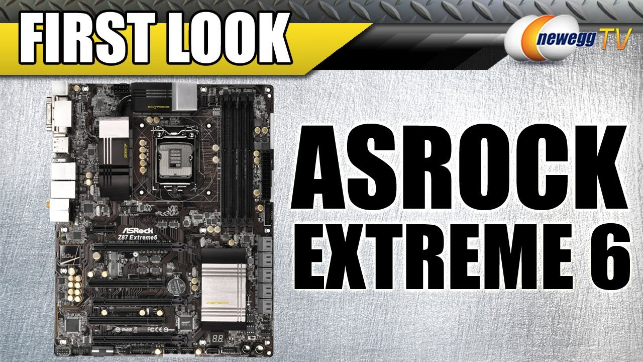 ASROCK Z87 EXTREME6 MOTHERBOARD DRIVER (2019)