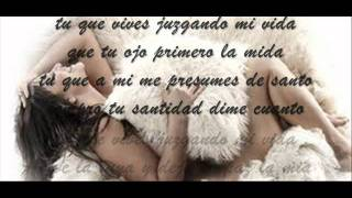 Jenni Rivera- La Primera Piedra (Letra)
