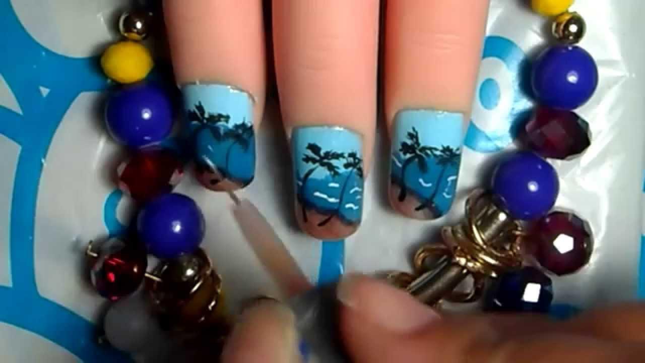 Decoraciones de u as playa yana nail art youtube - Decoraciones de unas ...