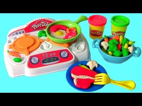 5ee494dbd6 Massinhas Play-Doh Criações no Fogão Kitchen Creations TOYSBR