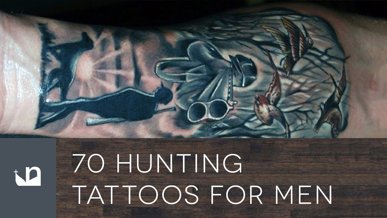 70 Hunting Tattoos For Men Youtube