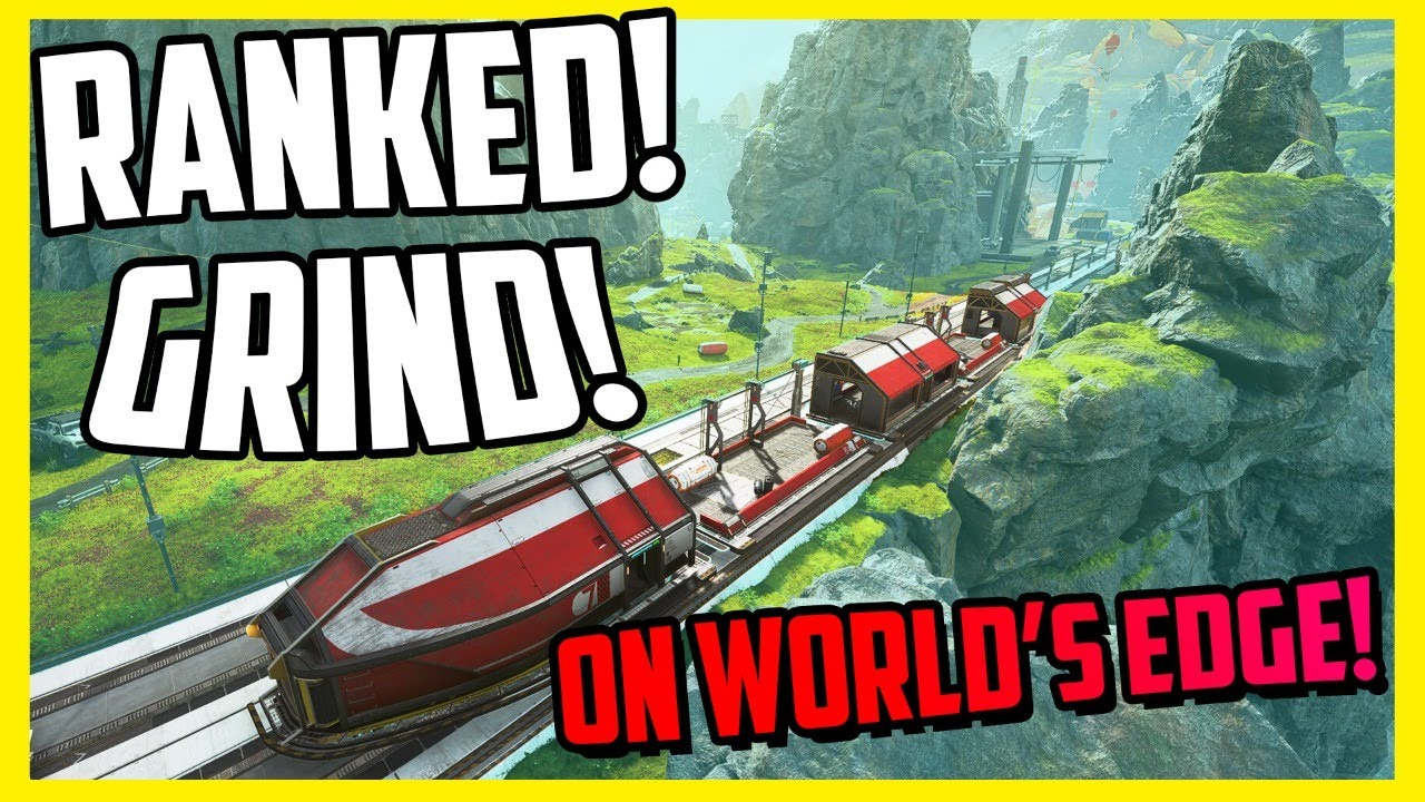 RANKED On World's Edge - Apex Legends Live !Merch !Social !Join