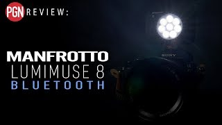 manfrotto Lumimuse 8 Bluetooth Review - Tiny LED light for photo and video