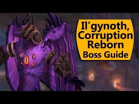 Il'gynoth, Corruption Reborn Raid Guide - Normal/Heroic Il'gynoth Ny'alotha Boss Guide