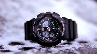 Обзор наручных часов Casio G-Shock GA-100-1A4(Внимание ! Данную модель часов стали ОЧЕНЬ часто подделывать. Советую покупать только в СУПЕР проверенных..., 2013-12-10T13:41:25.000Z)