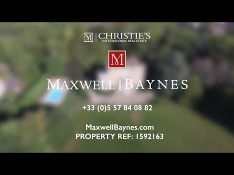 Elegant Chateau for sale near Bordeaux - exclusive to Maxwell-Baynes. Luxury property ref:1592163