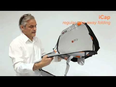 iCap folding with the simple option  - by iCap protectors ltd.