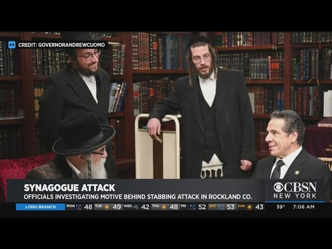 Latest On Synagogue Stabbing Investigation