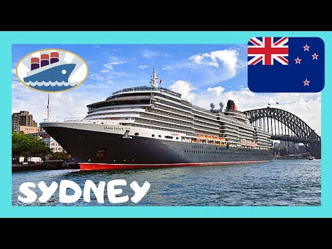 Loot at SYDNEY'S HARBOUR and the luxurious QUEEN VICTORIA cruise ship, AUSTRALIA