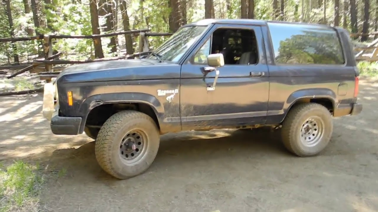 1984 Ford Bronco Ii Youtube