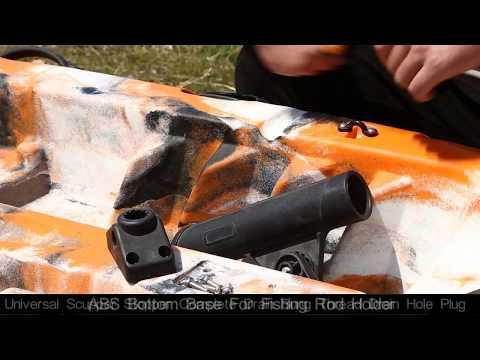 Part5:ABS Bottom Base For Fishing Rod Holder