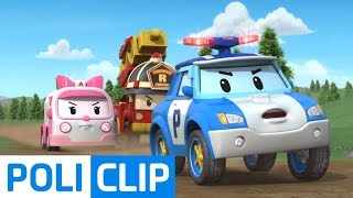 What? Who is hanging? | Robocar Poli Rescue Clips