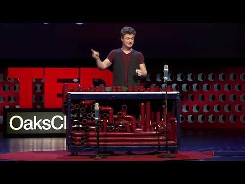 From PVC Pipe to RimbaTubes | Snubby J (aka Kent Jenkins) | TEDxOaksChristianSchool