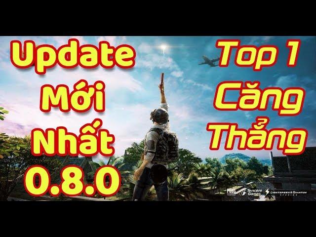 [Gcaothu] Youtuber liên quân lần đầu tiên cầm súng quẩy top 1 PUBG Mobile update mới nhất