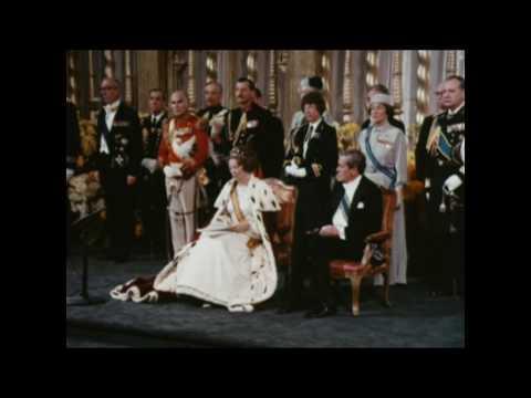 Beëdiging en inhuldiging Koningin Beatrix in de Nieuwe Kerk (1980)
