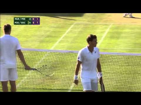 When fair-play disappears from Tennis/ Când fair-play-ul dispare din Tenis (PospiSock -Murray/Peers)