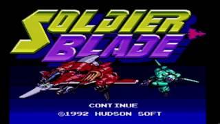 Soldier Blade PC Engine Turbo Grafx 16 Game Explain! Sooo Much Gaming