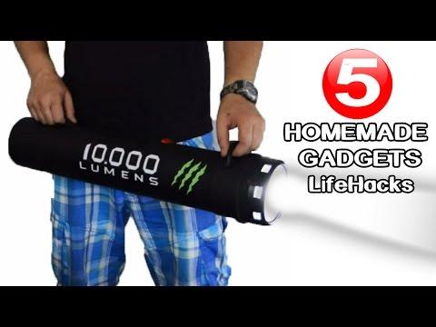 5 Incredible Diy Gadgets You Can Make At Home Lifehacks
