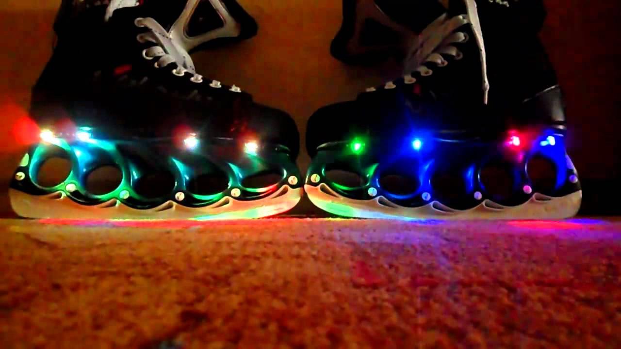 Led Beleuchtung Für Schlittschuhe   Schlittschuhe Mit Led S Youtube