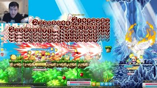 Trying Out New 5th Job BowMaster Skills in MapleStory
