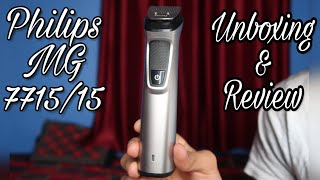 Philips MG 7715/15 Trimmer Unboxing & Review | Best Trimmer in India