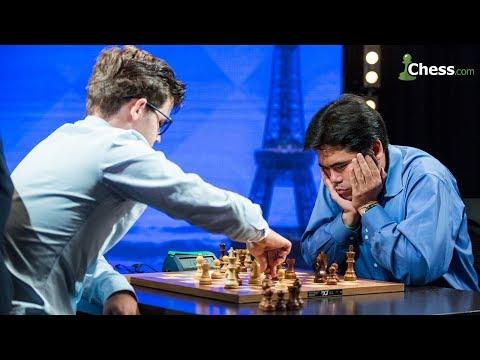 Magnus Carlsen vs Hikaru Nakamura   Ajedrez Comentado   Grand Chess Tour 2017