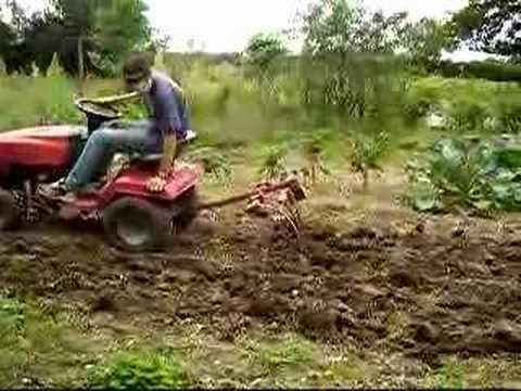 Tracteur tondeuse youtube - Remorque de jardin pour autoportee ...