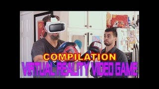 Virtual Reality Video Game Compilation | David Lopez