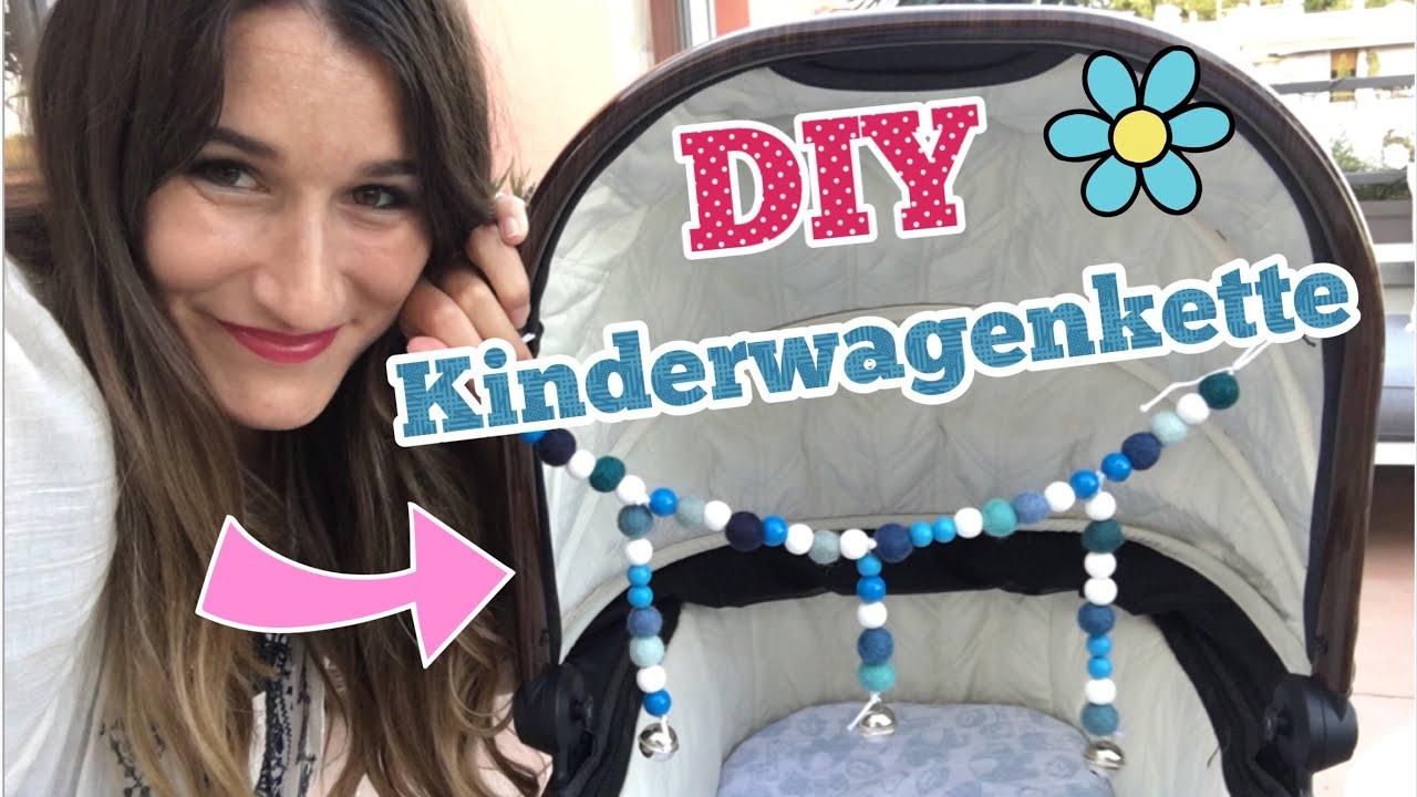 kinderwagenkette selber machen bastelanleitung diy mamaleben youtube. Black Bedroom Furniture Sets. Home Design Ideas