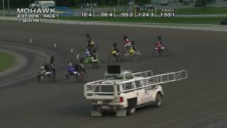 Mohawk, Sbred, Aug. 27, 2016 Race 1