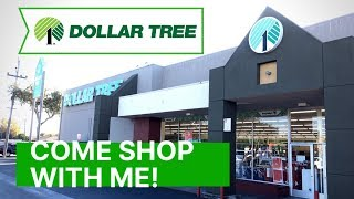Come with me to The Dollar Tree 🌳 Lots of amazing new items! Shop with me!