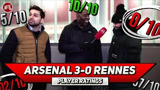 Arsenal 3-0 Rennes | Maitland-Niles Has Secured His Place! Player Ratings Ft Troopz & Afzal