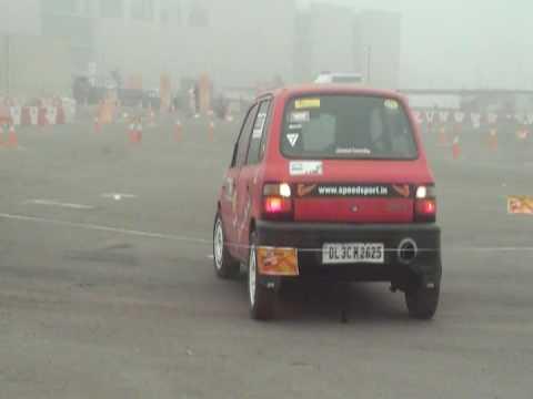 Maruti Suzuki Autocross 08- PHIL over-cooking it