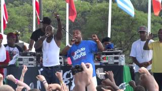 Naughty By Nature - Guard Your Grill & Craziest - Rock The Bells - PNC Holmdel, NJ - 09.01.12