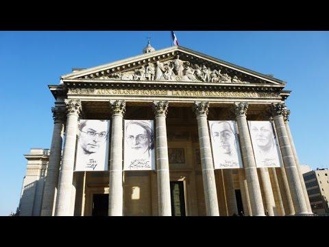 France - Paris - Le Panthéon - Intérieur
