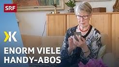 Handy-Tarife im Vergleich: Eine Flut von Anbietern |   2017 | SRF Kassensturz