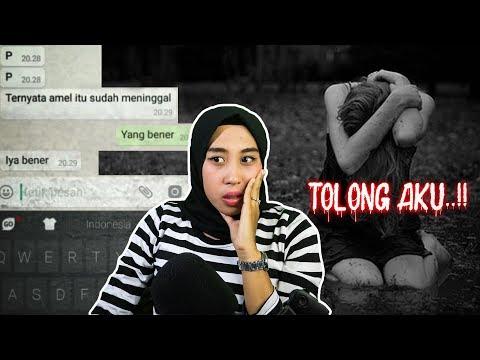 Chat History Seram - TOLONG JEMPUT AKU #asupanhorror