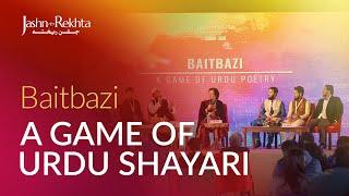 A Game Of Urdu Poetry : Baitbazi | Jashn-e-Rekhta