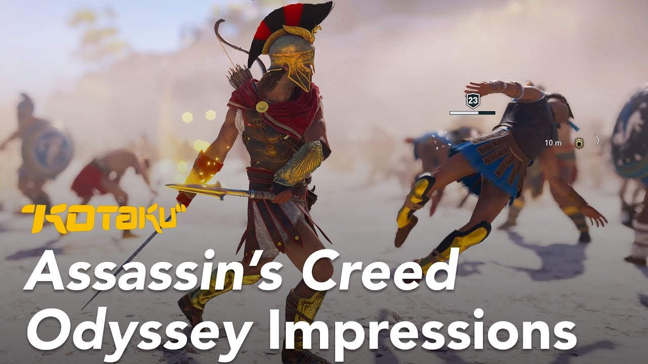 Assassin's Creed Odyssey Impressions