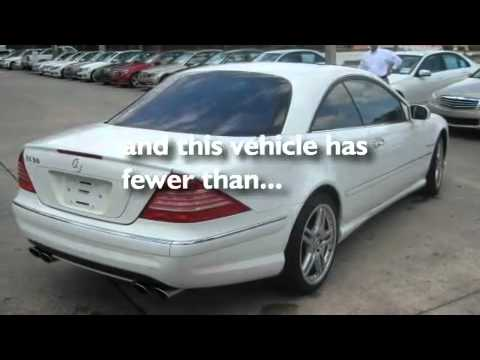 2006 mercedes benz cl55 amg certified daytona beach fl for Mercedes benz daytona beach