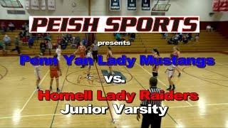 Hornell vs. Penn Yan Junior Varsity Girls Basketball 2016-2017