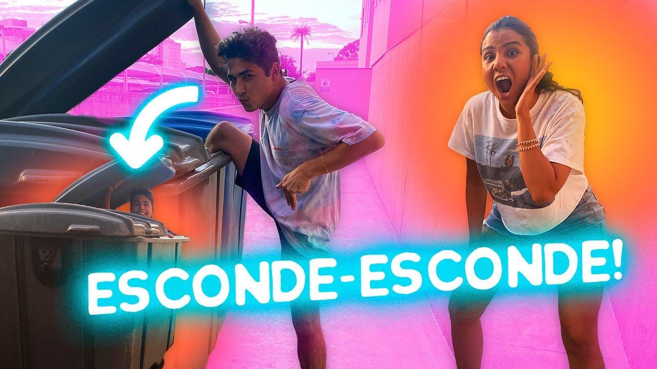 ESCONDE-ESCONDE (com o NOVO SQUAD)