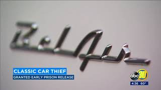 Veteran's Day classic car thief granted early release