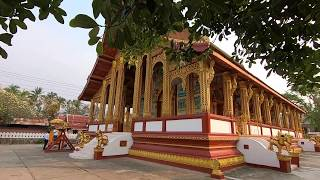 Laos | April 22 Clips with Wat Manorom, Luang Prabang  / ຫຼວງພະບາງ (老挝琅勃拉邦 玛诺隆寺● 4月22日)