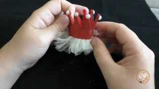 Обзор на детский зажим для волос корона [Aliexpress]