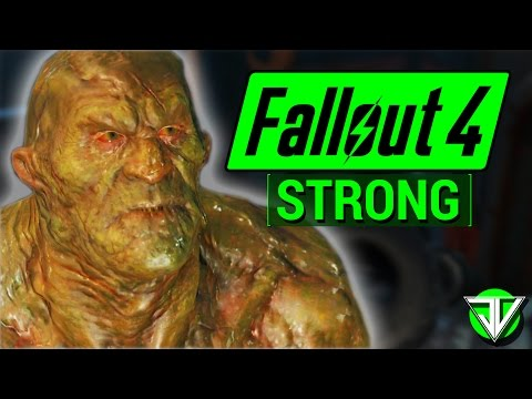FALLOUT 4: Strong COMPANION Guide! (Everything You Need To Know About Strong)