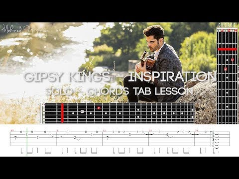 Gipsy Kings - Inspiration Guitar Lesson Tab Solo & Chords